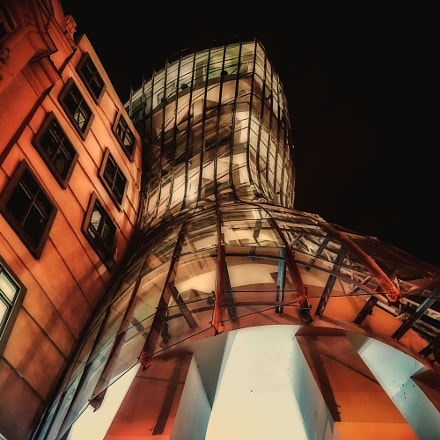 The Dancing house by, Sony ILCE-7, Sigma 30mm F2.8 [EX] DN
