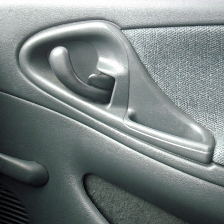 Car door interior., Fujifilm FinePix J10