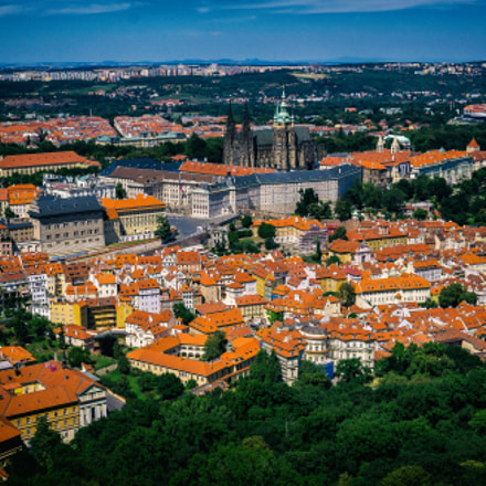 Prague viewpoint from petrin, Sony ILCE-7, Sigma 30mm F2.8 [EX] DN