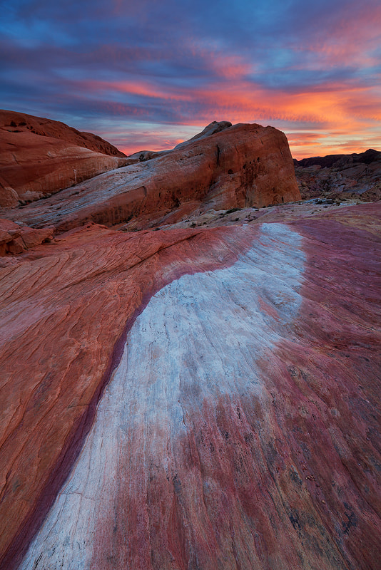 Photograph Sunset, Valley of Fire by Sarah Marino on 500px