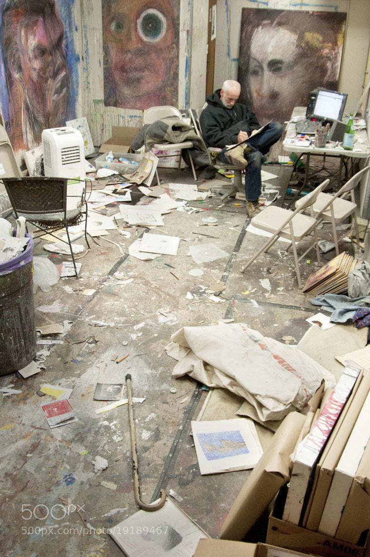"Photograph ""Accidental Artist"" Jon Sarkin by Katherine Richmond on 500px"
