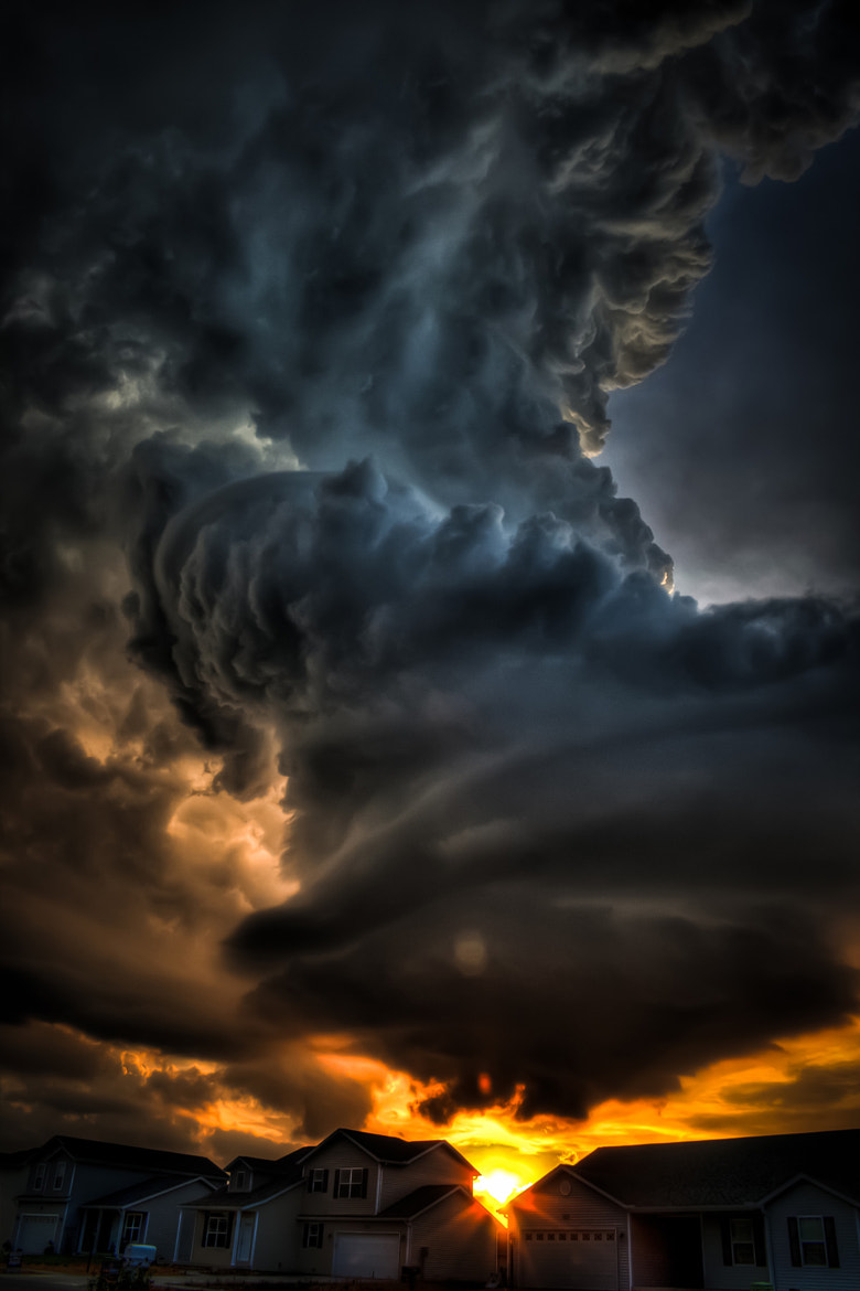 Photograph Freaky Clouds on a July Night by Matt Prose on 500px