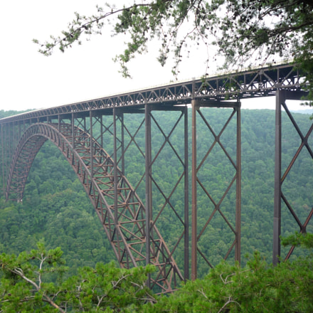 New River Gorge Bridge, Panasonic DMC-LZ8