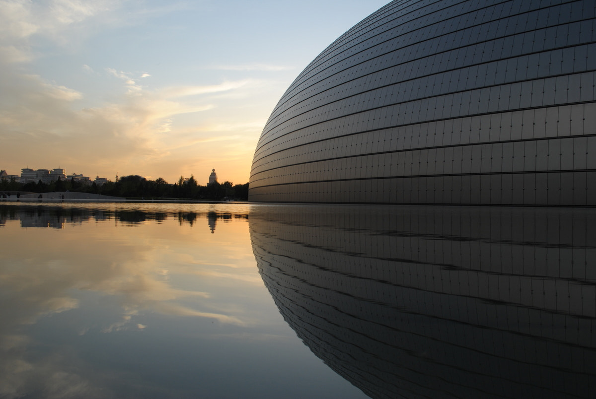 Photograph The Egg at Sunset by Fabrizio Spademan on 500px