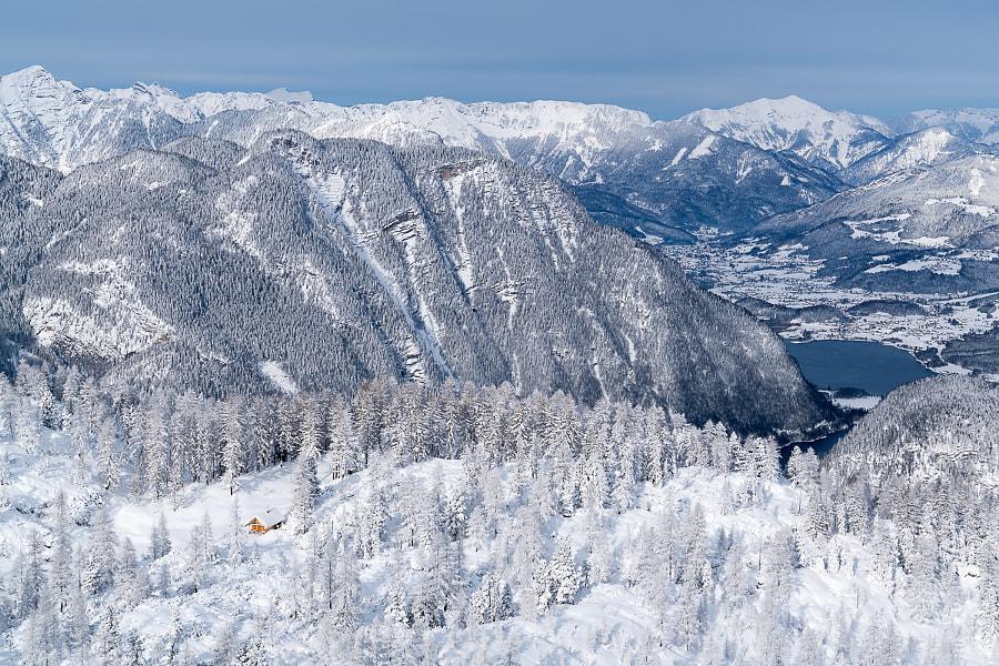 Winter Wonderland in the Austrian Alps, автор — Christoph Oberschneider на 500px.com