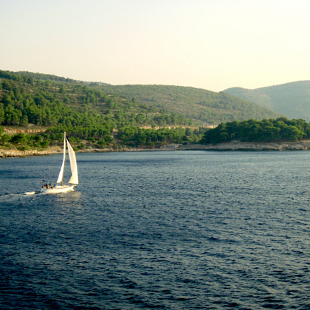 Island of Vis leaving, Canon DIGITAL IXUS 800 IS