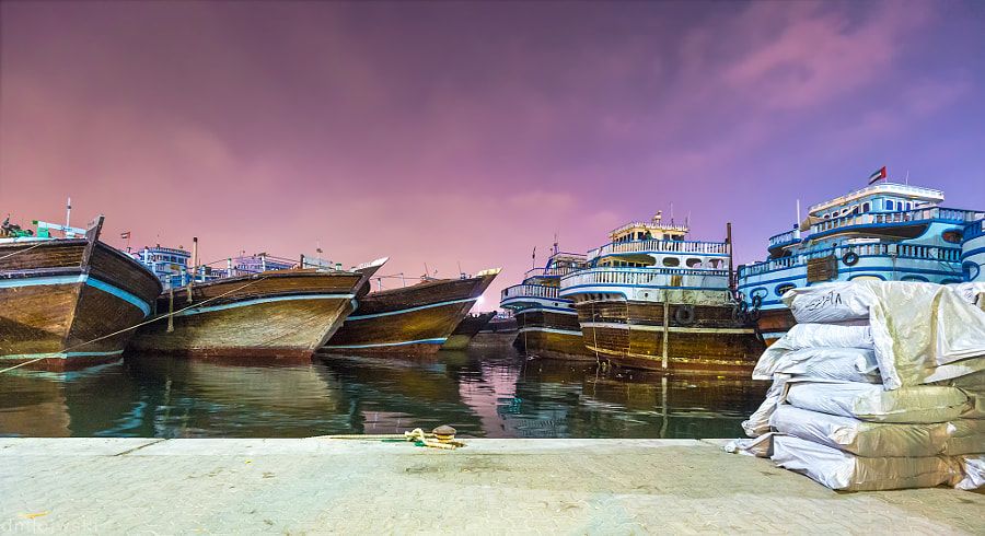 Dhows in Dubai
