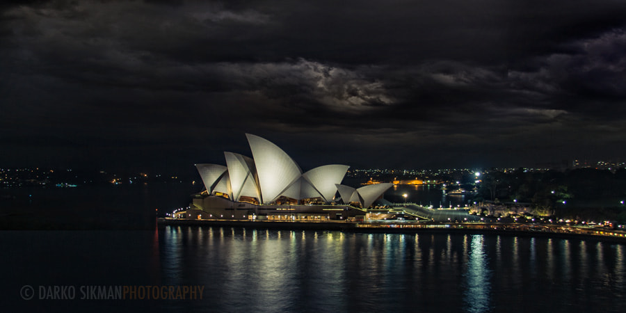 Photograph Night in the harbor by Darko Sikman on 500px