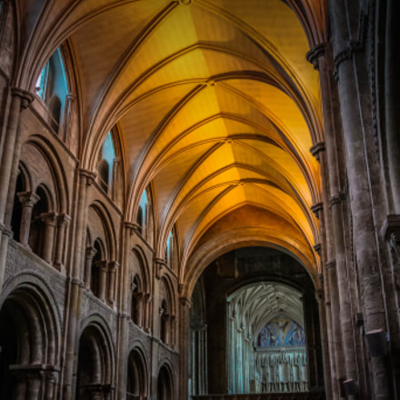 Christchurch Priory, Canon EOS 5D MARK II, Tamron AF 19-35mm f/3.5-4.5