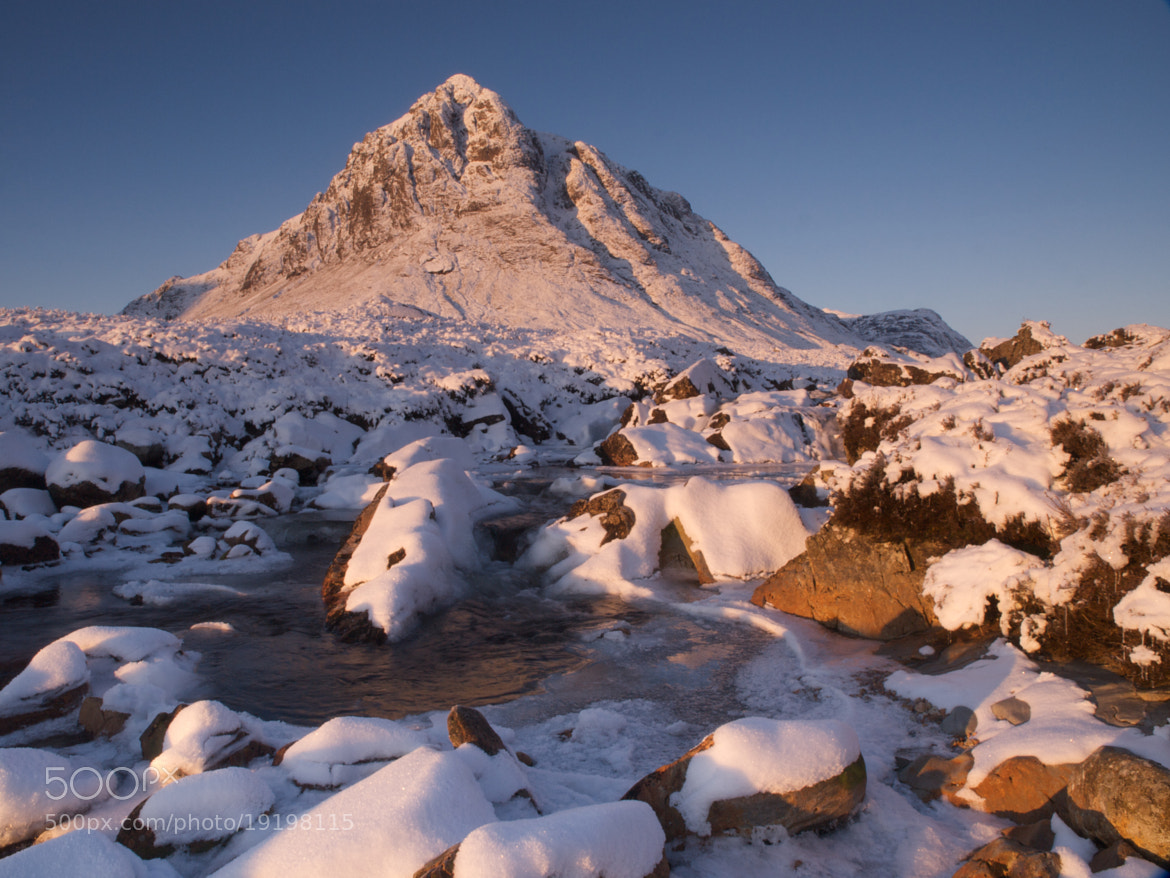Photograph Buachaille morning by Jon Sketchley on 500px