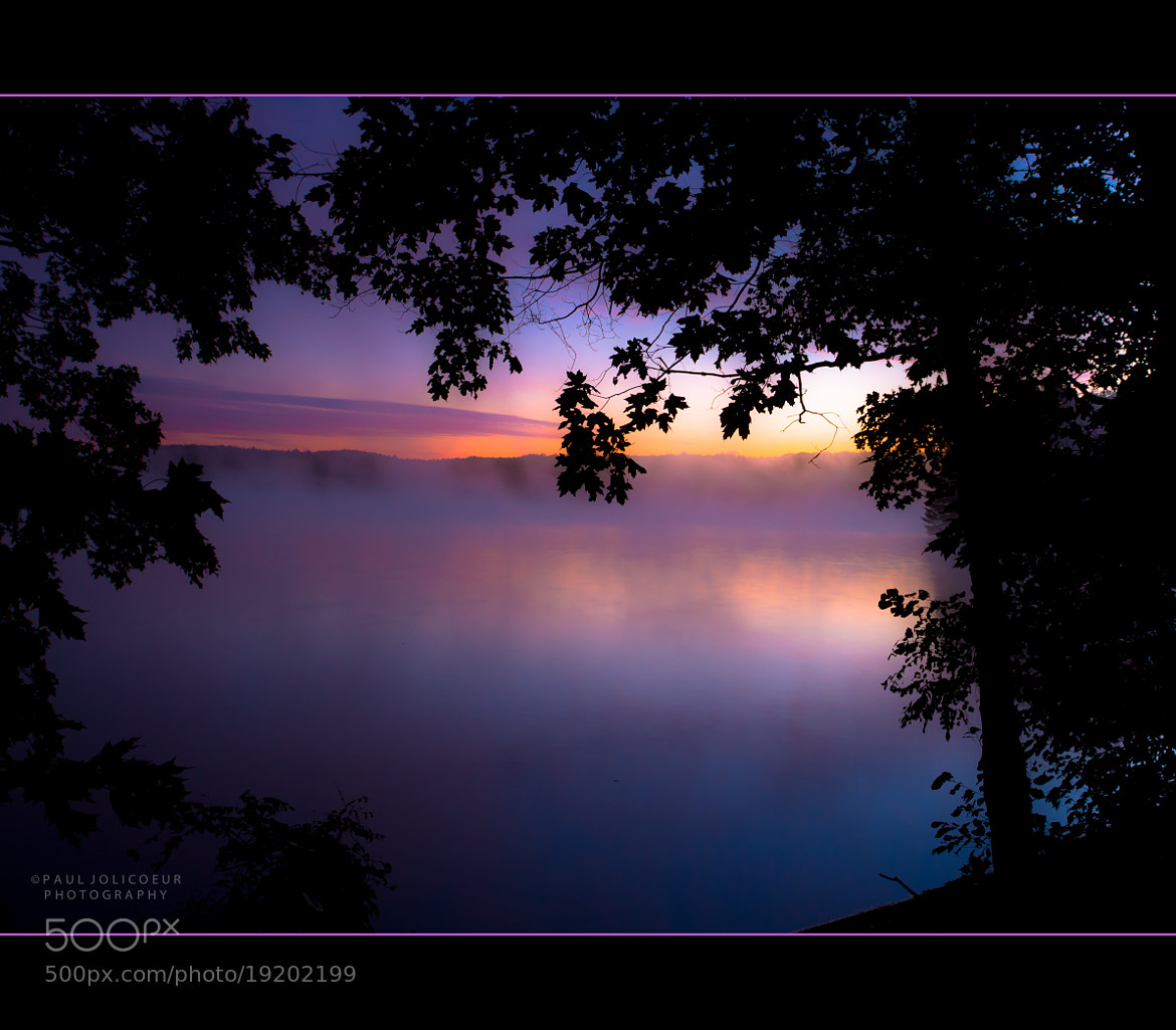 Photograph The Color of the Morning by Paul Jolicoeur on 500px