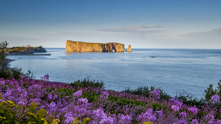 Le Roché Percé by Sébastien Trudeau-Dion on 500px.com