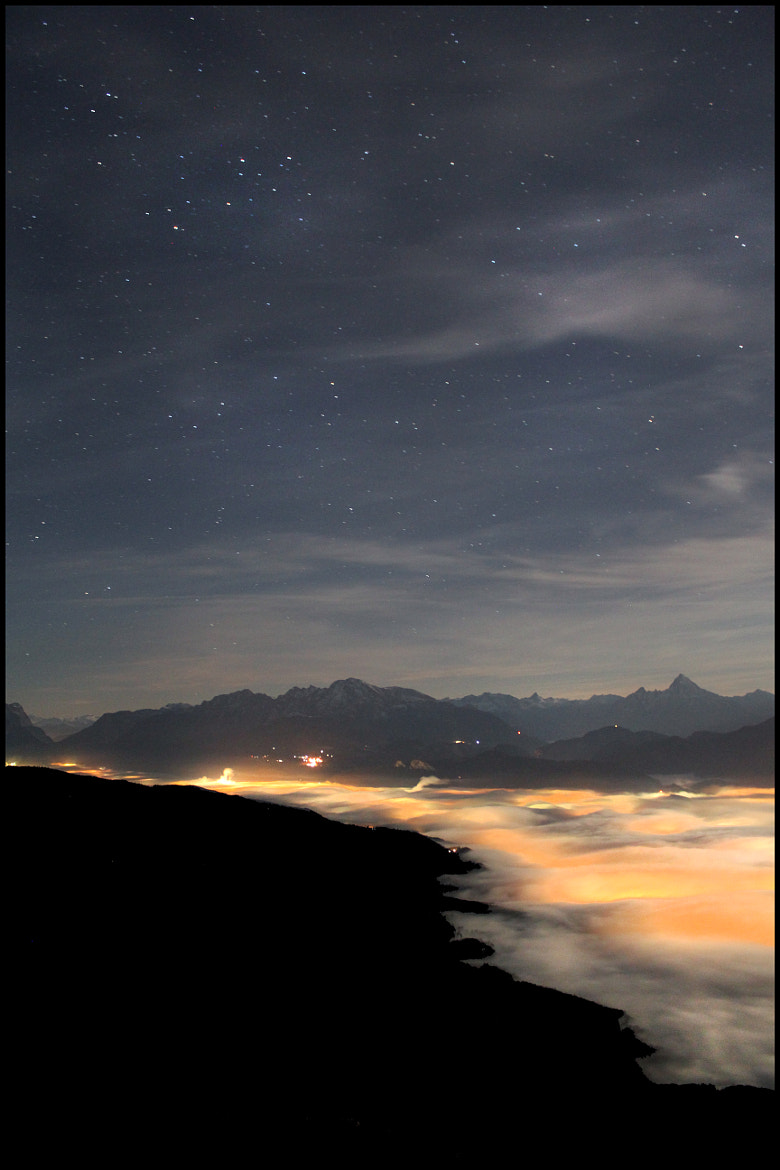 Photograph more fog and stars *** by Mex Brunner on 500px