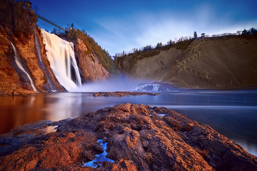 Montmorency Falls #3 by Magnus Larsson on 500px.com