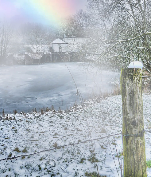 Photograph snow, mist and sun by Patrick Strik on 500px