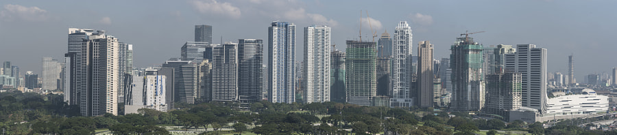 Skyscrapers of Manila