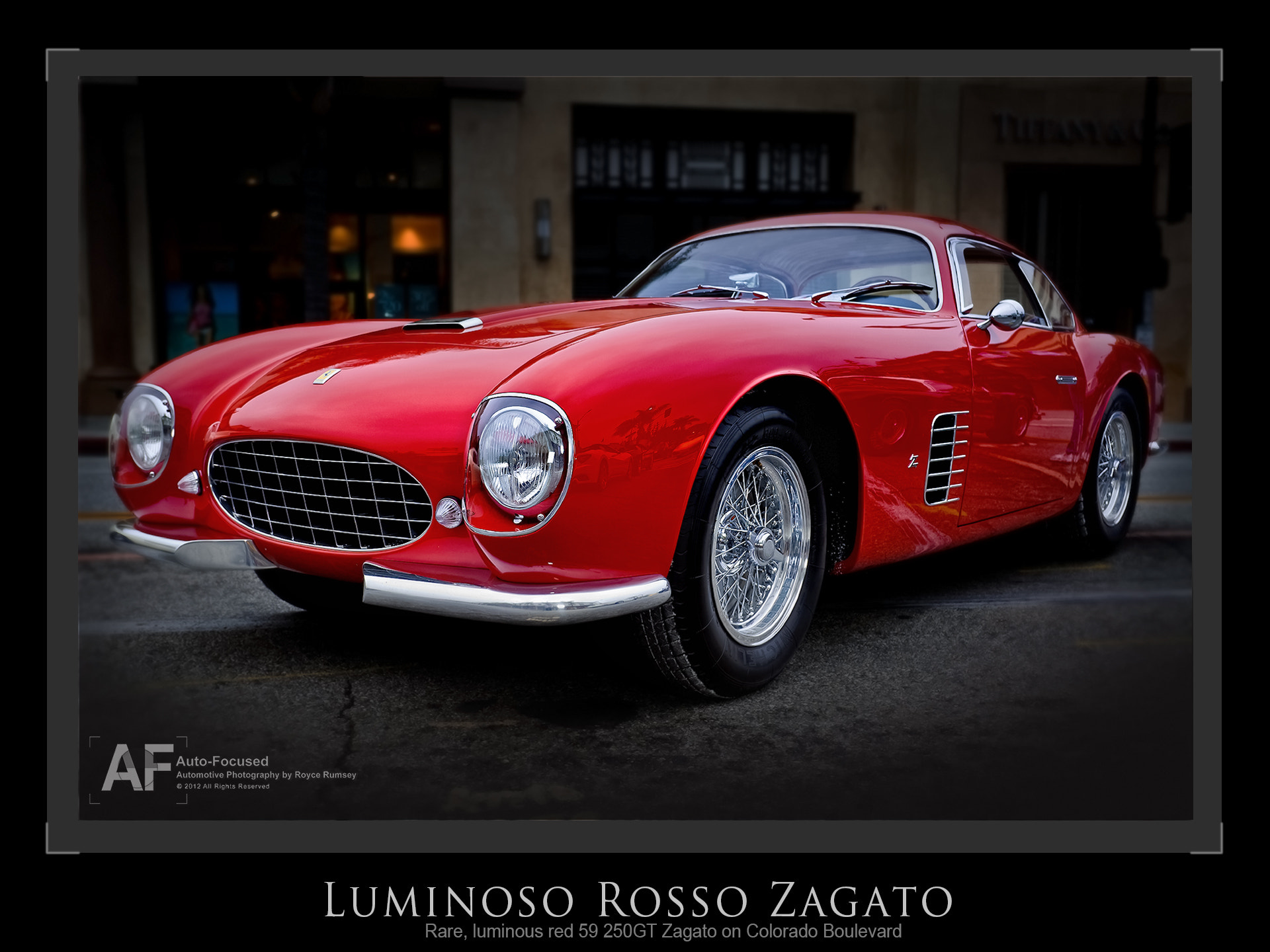 Photograph Ne plus ultra....Zagato 250 GT by Royce Rumsey on 500px