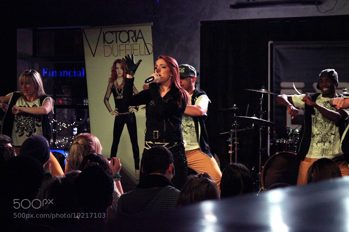 Photograph Victoria Duffield on Stage by Sandee Nho on 500px