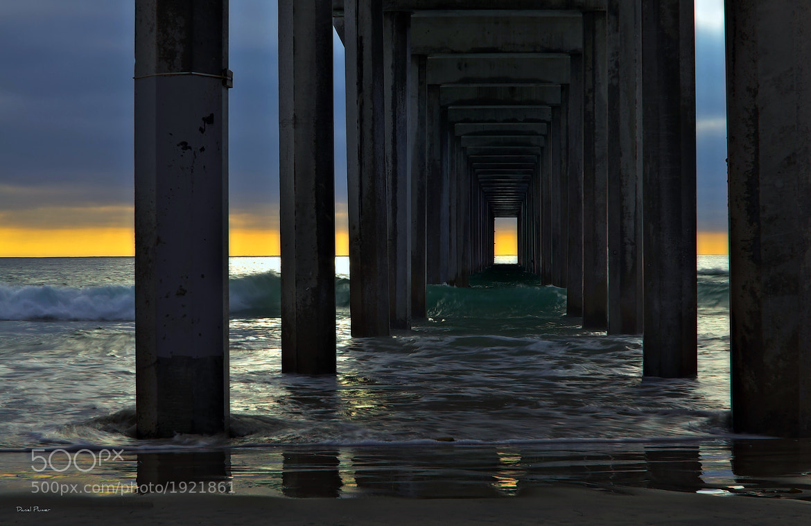 Photograph Under The Pier by Daniel Plumer on 500px