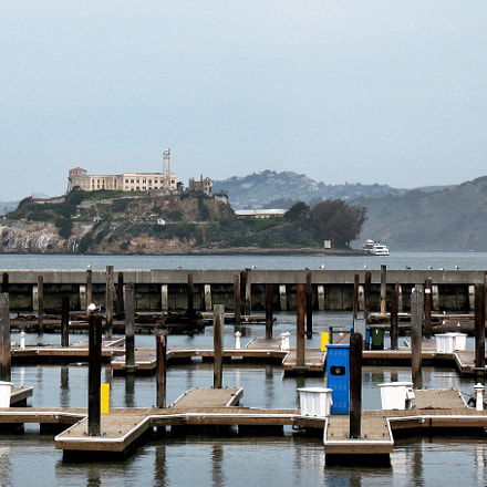 Alcatraz as viewed from, Canon POWERSHOT A630