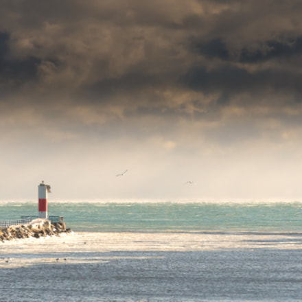 Two Rivers Lighthouse, Sony ILCA-77M2, Tamron SP 70-200mm F2.8 Di USD