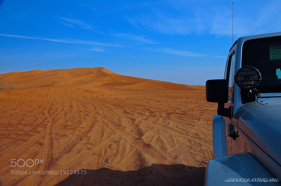 Photograph my Jeep and The Big Red Sand dunes... by Leena'z Anilzam on 500px