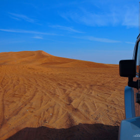 my Jeep and The Big Red Sand dunes... by Leena'z Anilzam (Leenaz)) on 500px.com
