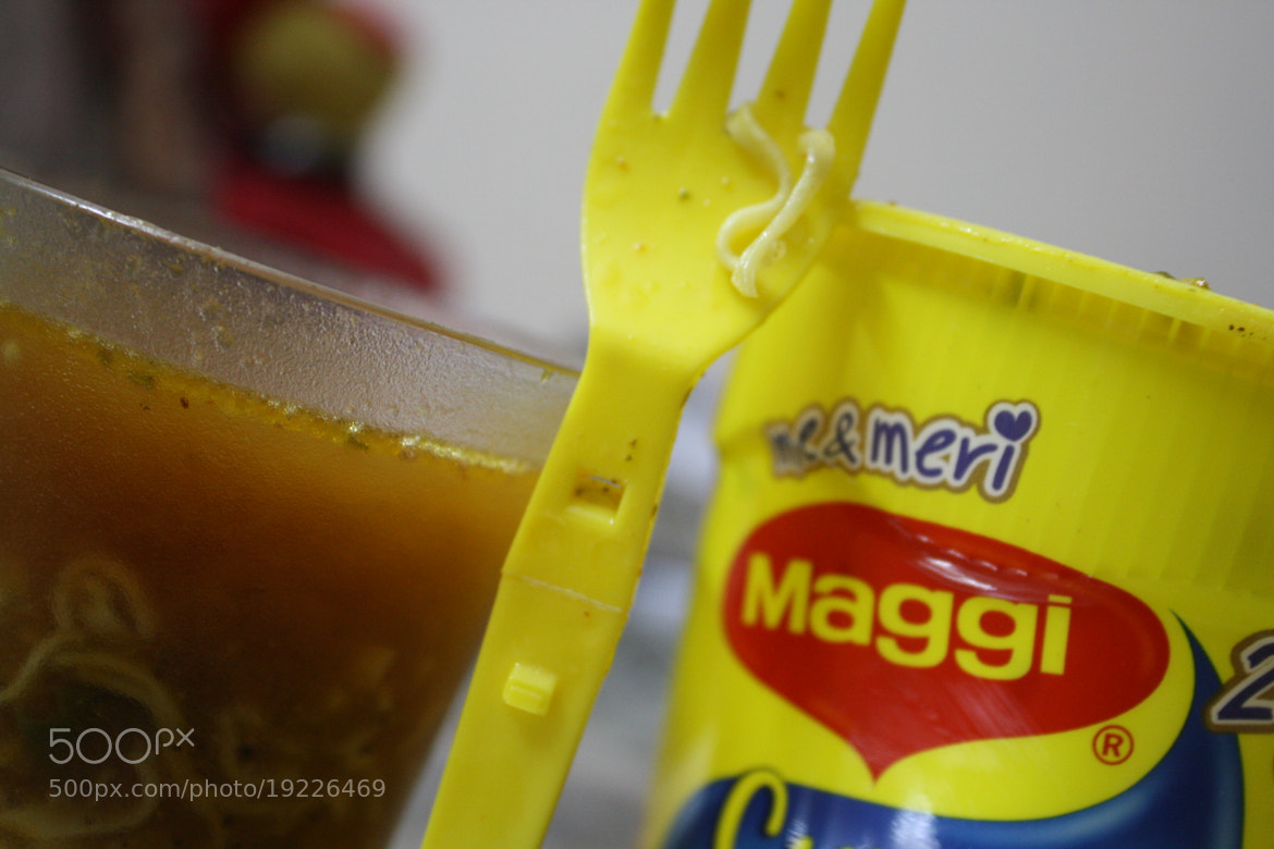 Photograph ~me and my Maggi by  Agrawal on 500px