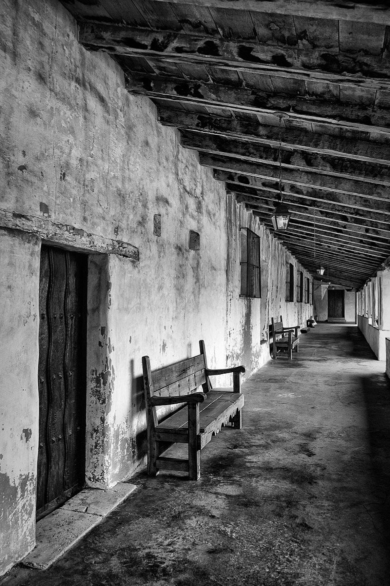 Photograph Mission Hallway - Plate 2 by Stefan Bäurle on 500px