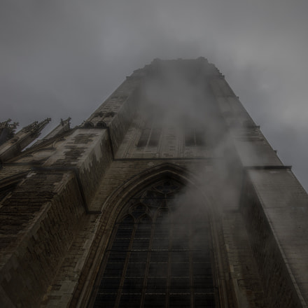 Cathedral in the mist.