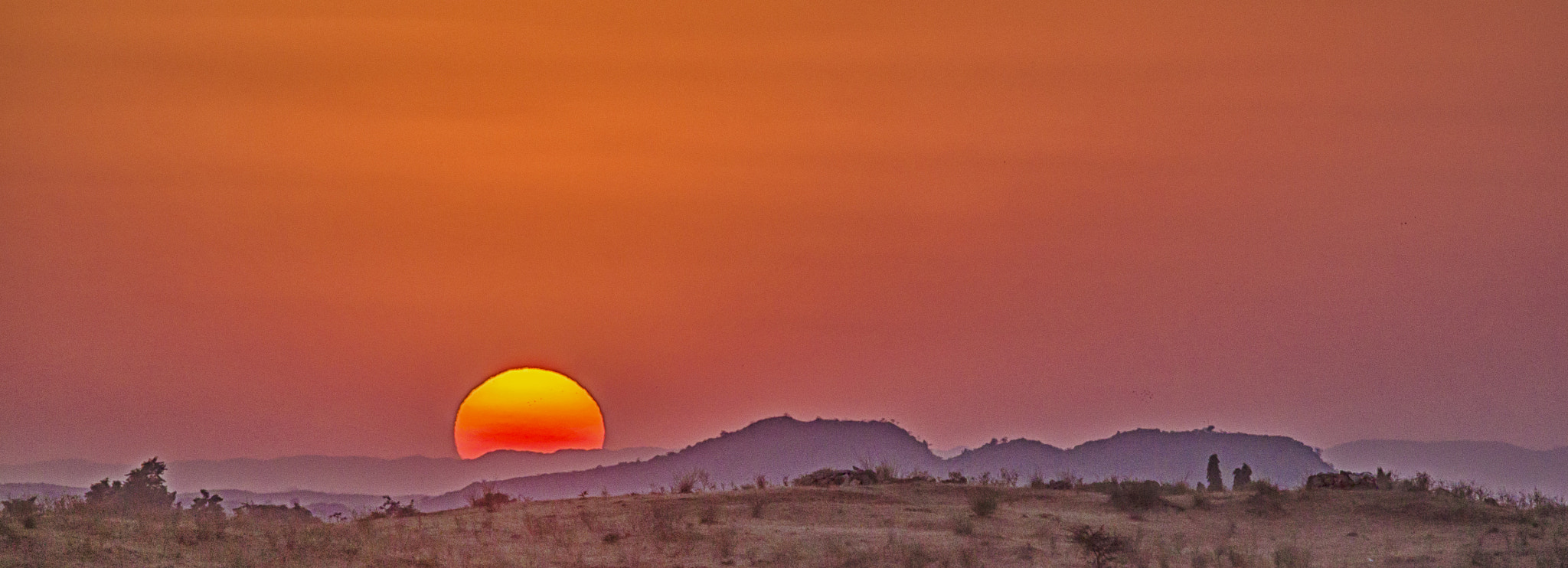 Photograph Burning sky by Souvik Maitra on 500px