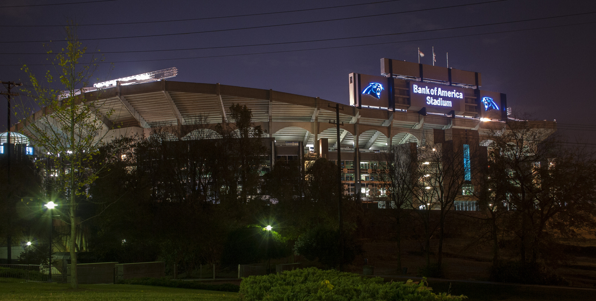 Photograph Bank Of America Stadium by Caleb McKnight on 500px