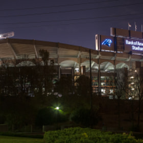 Bank Of America Stadium by Caleb McKnight (calebmcknight)) on 500px.com