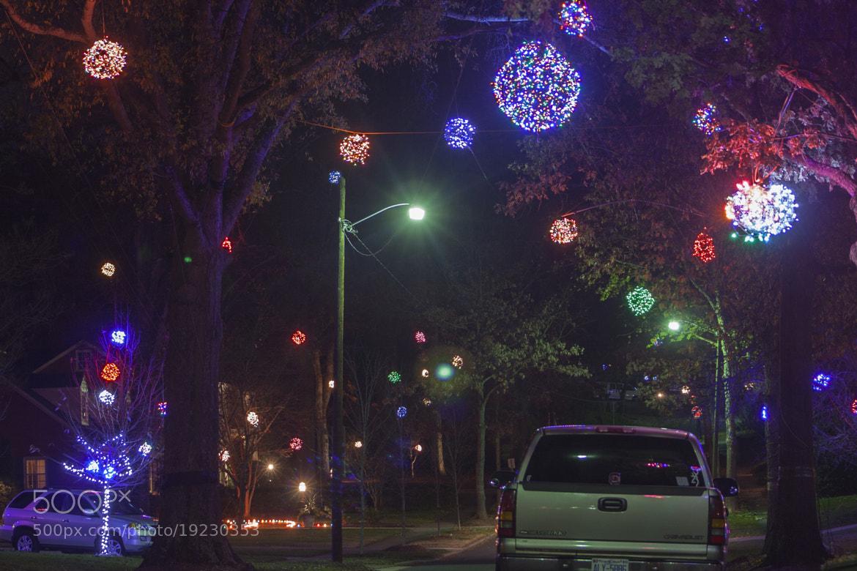 Photograph Christmas Lights by Caleb McKnight on 500px