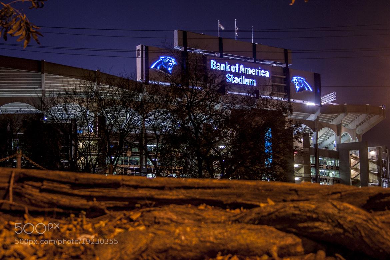 Photograph Panthers Stadium by Caleb McKnight on 500px