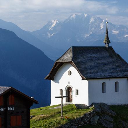 Valais - Bettmeralp chapel Maria zum Schnee