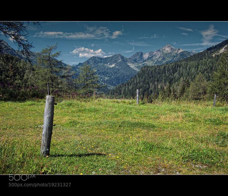 Photograph Alpine panorama by György Vrbovszki on 500px