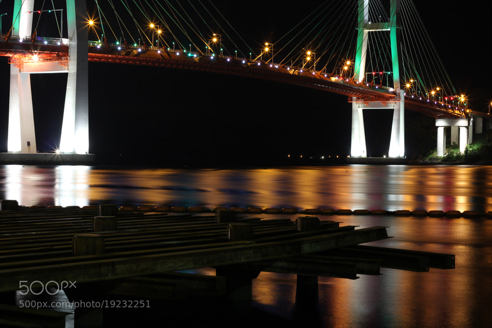 Photograph Bridge on colorful silk by Jinsoo Park on 500px