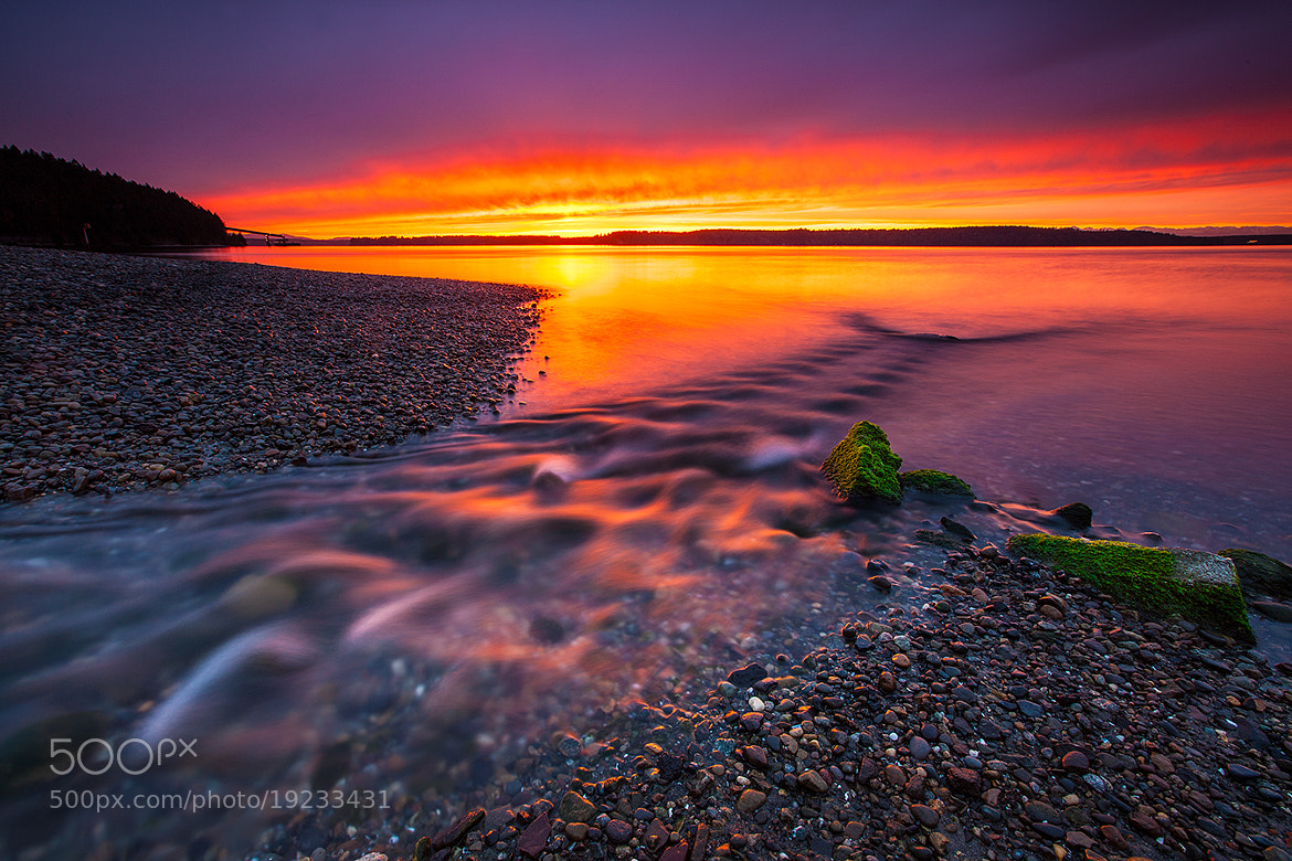 Photograph Puget Sound Twilight by Kyle Young on 500px