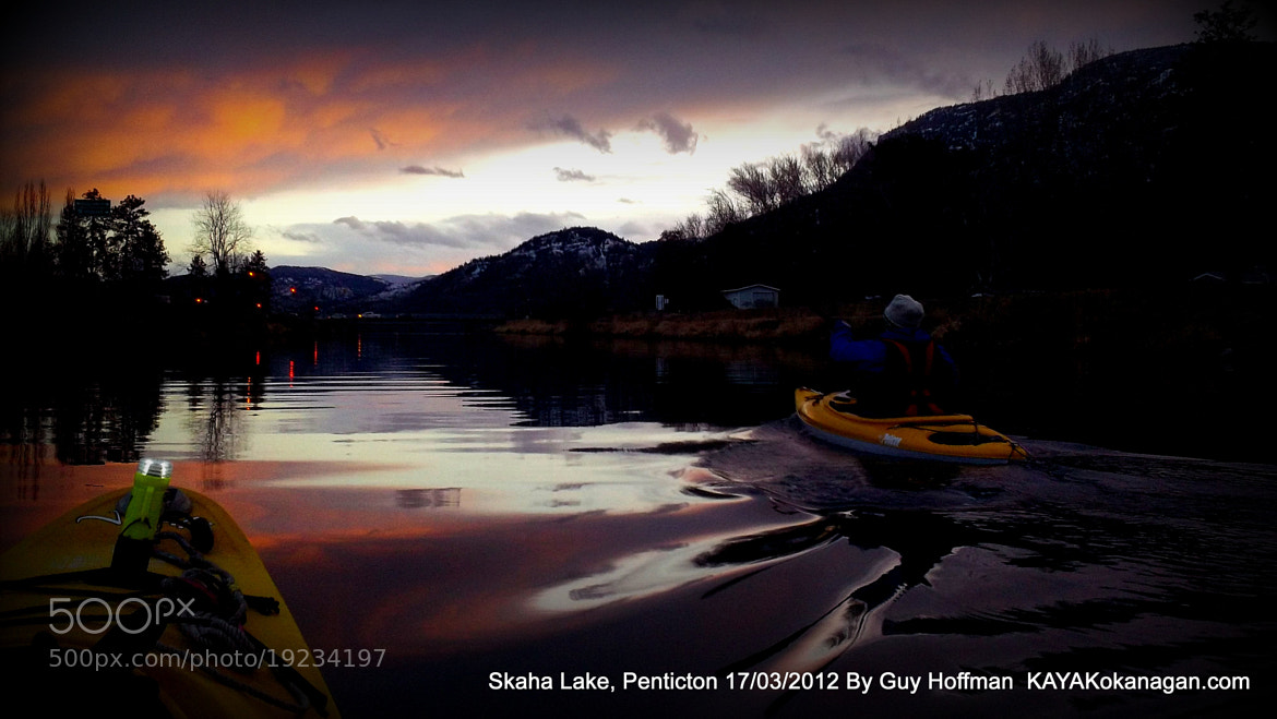 Photograph 2012-03-17 Sunset Kayaking by Guy Hoffman on 500px