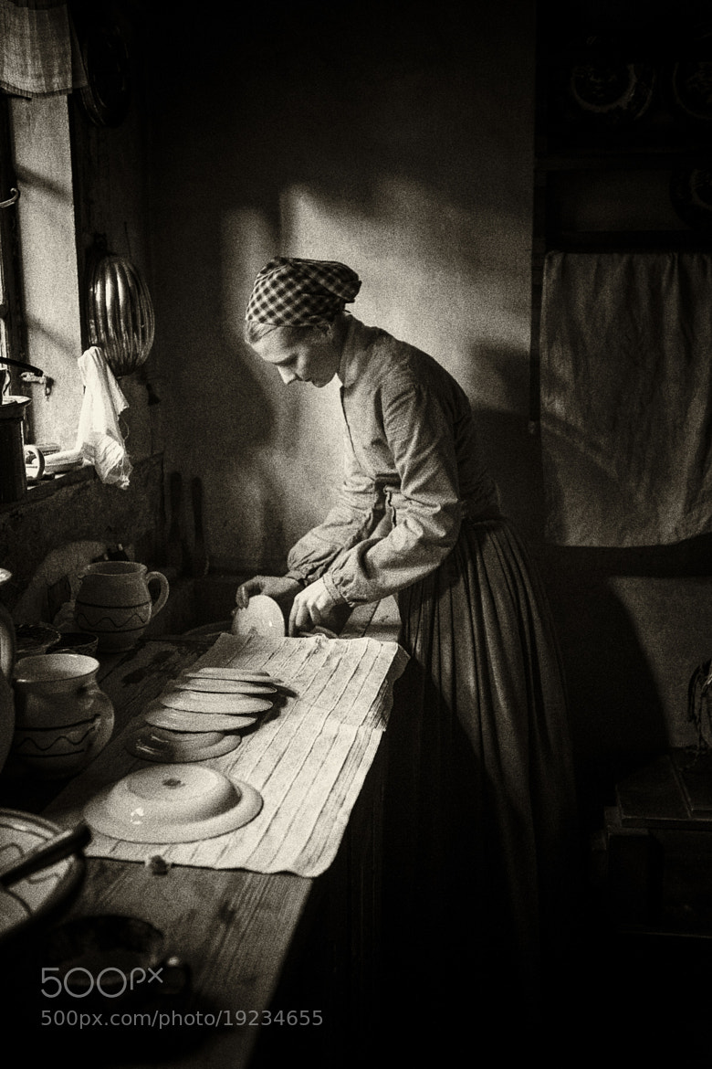 Photograph The kitchen maid at work. by Rasmus Hald on 500px