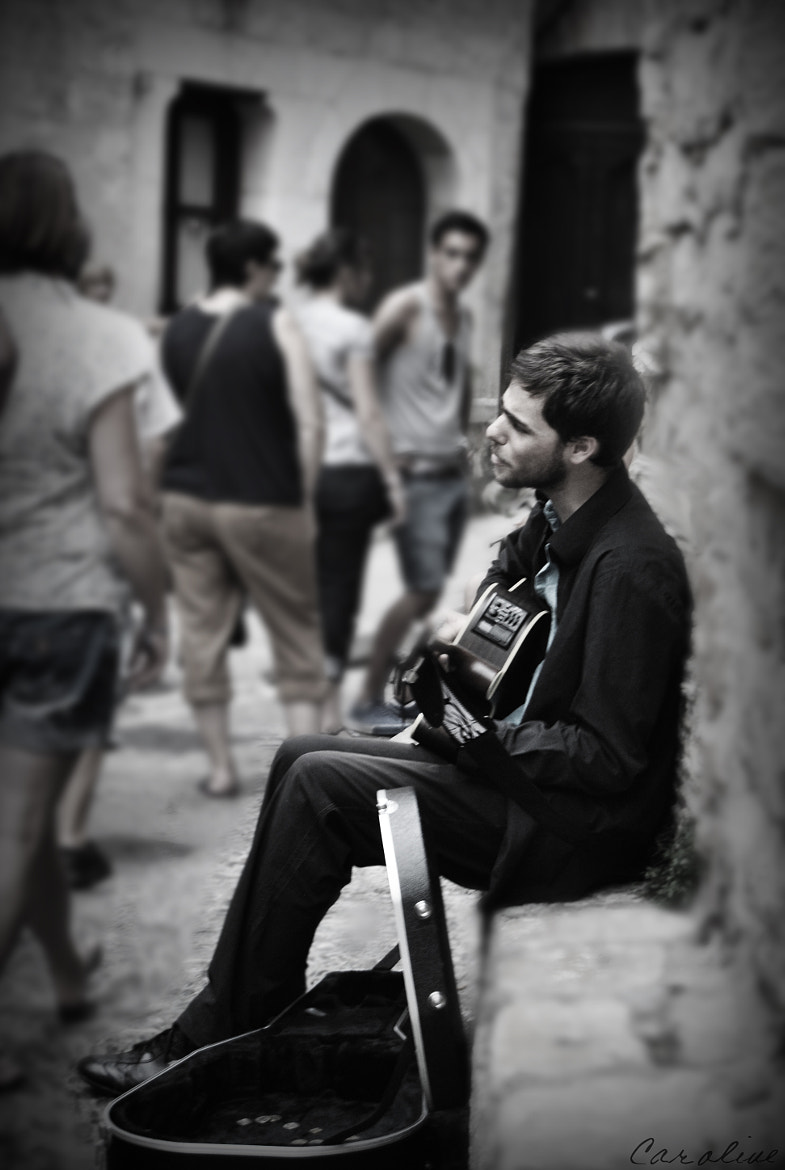 Photograph The Musician II. by Caroline Aparisi on 500px