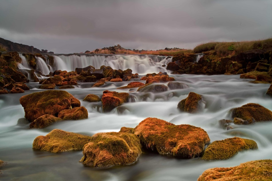 Photograph Waterfall on the soutcoast of Iceland by Tim Vollmer on 500px