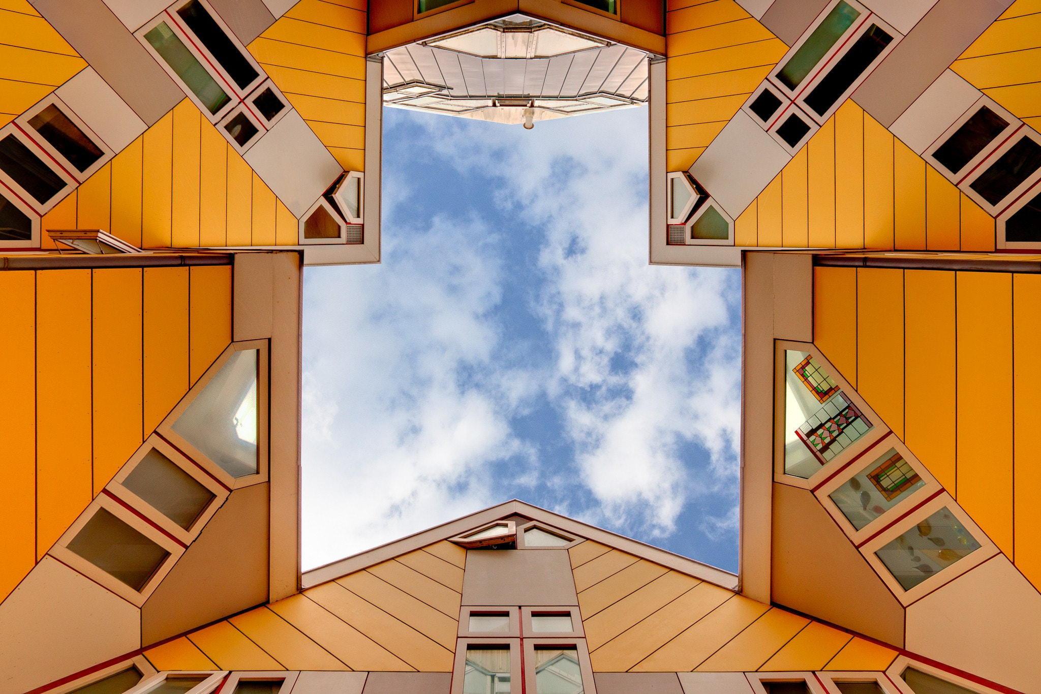 Photograph Cube geometry by Raymond van der Hoogt on 500px
