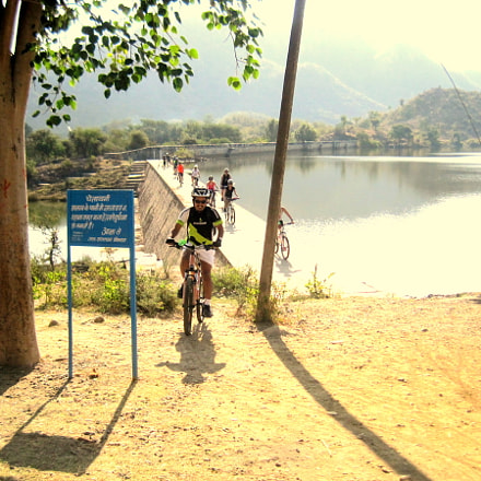 Cycling Holidays In India, Canon DIGITAL IXUS 95 IS