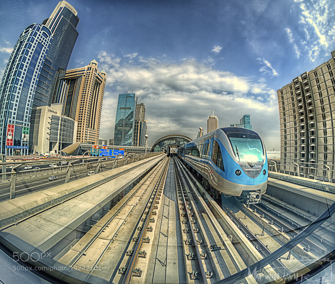 Photograph Metro Train HDR2 by Marwin Javier on 500px