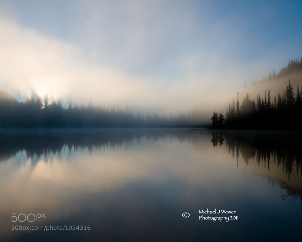 Photograph Reflection Lakes Mount Rainier by Michael Wewer on 500px