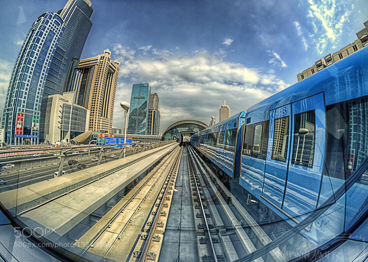Photograph Metro Train HDR3 by Marwin Javier on 500px