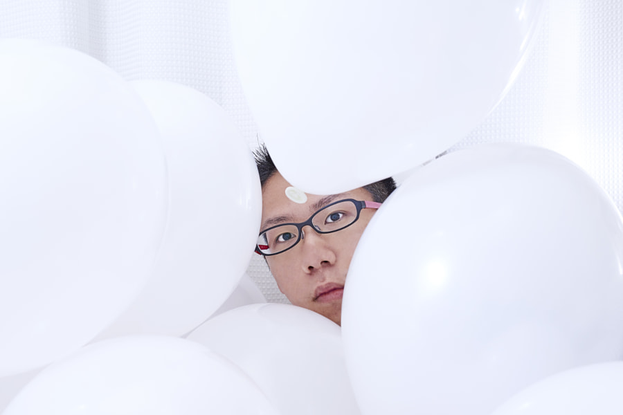 "Self Portrait ""Balloons"" by Ryo Murata on 500px.com"