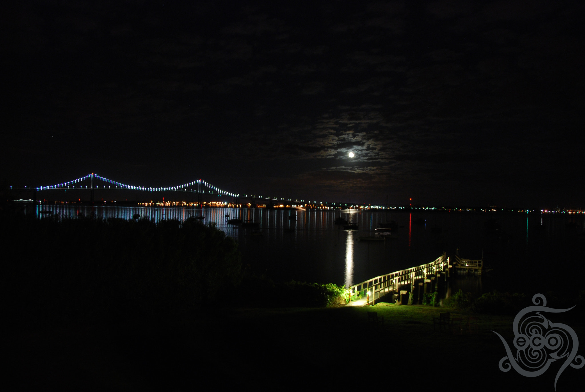 Photograph Newport Bridge from Jamestown by Ed O'Malley on 500px